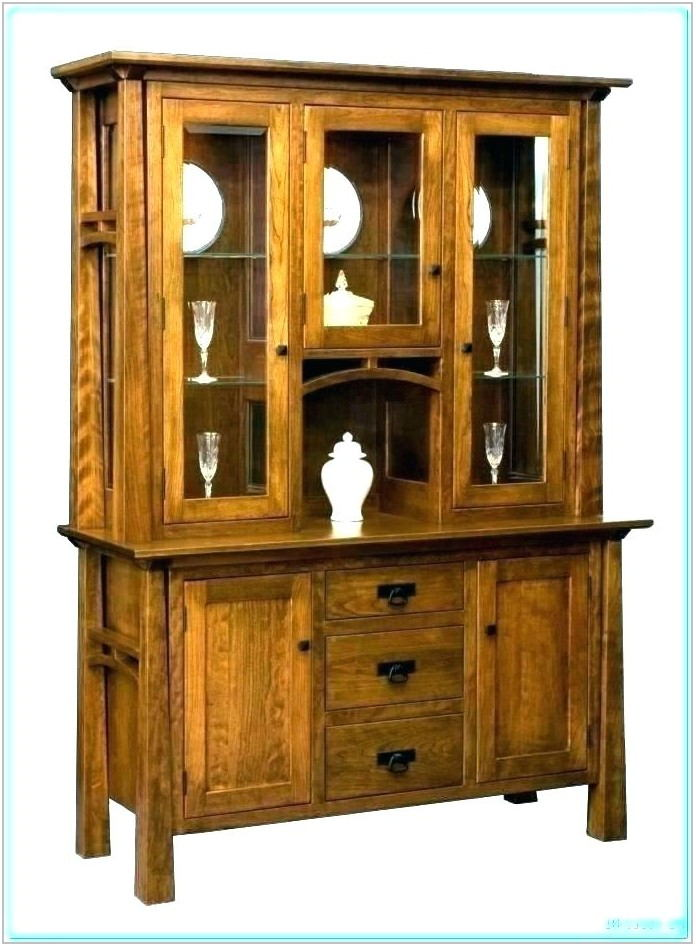 Black Dining Room Hutch China Cabinet