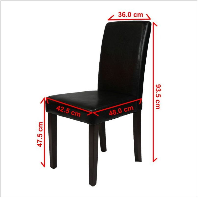 Black High Back Dining Room Chairs