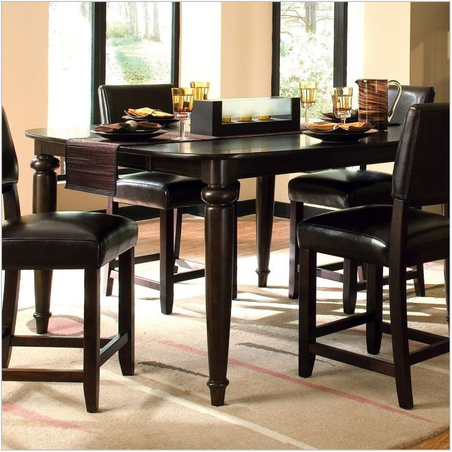Black High Top Dining Room Set
