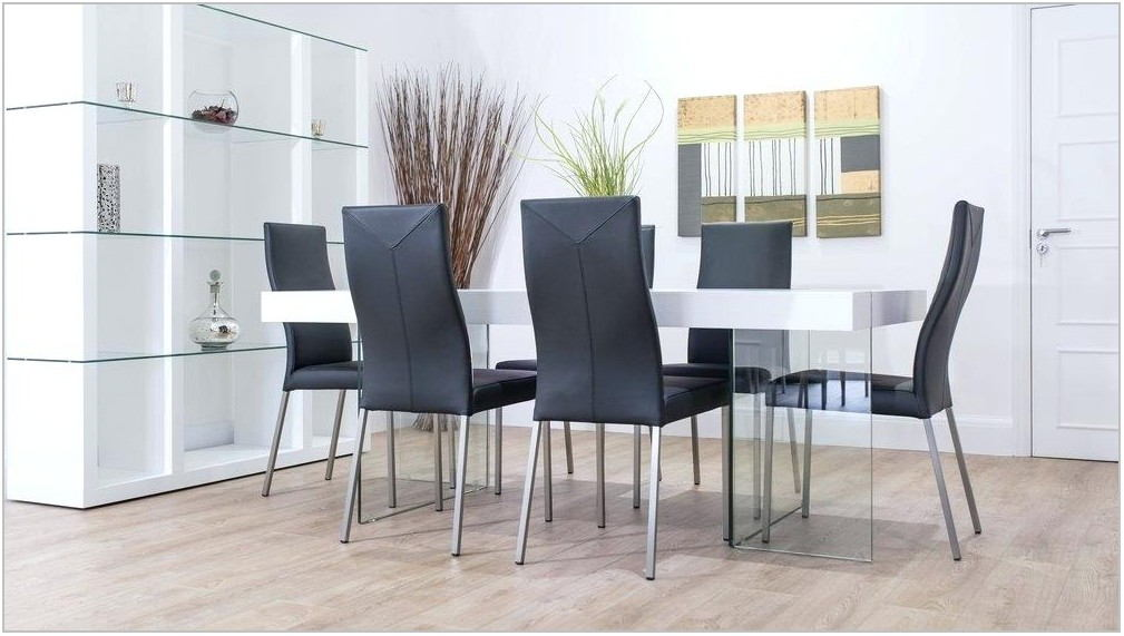 Black Leather Dining Room Chairs Sale
