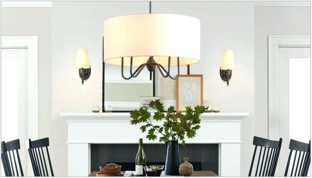Black Metal Dining Room Chandelier