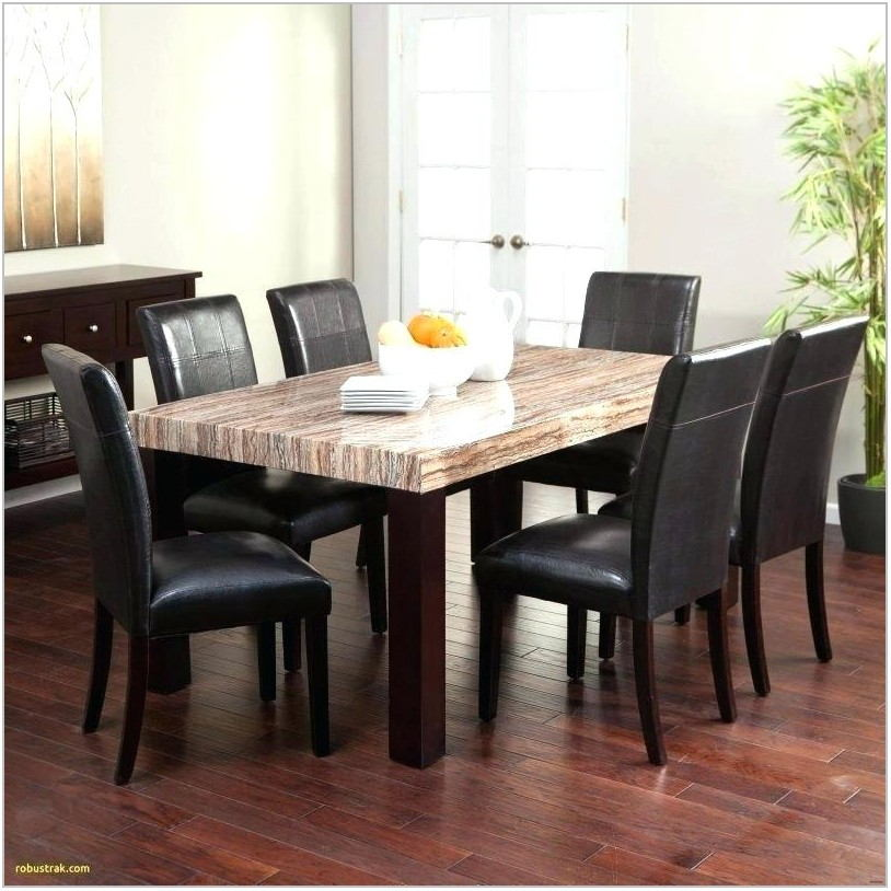 Black Modern Dining Room Table