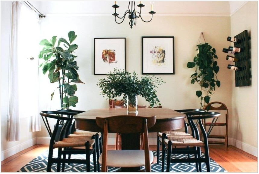 Bohemian Dining Room Table