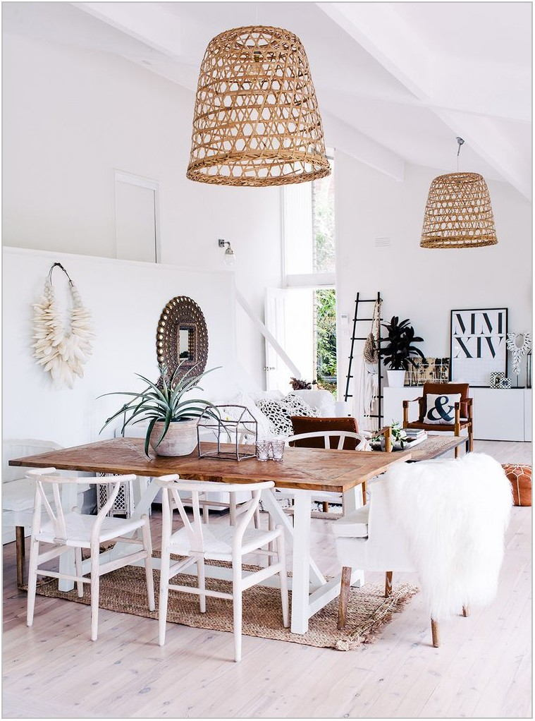 Boho Dining Room Light