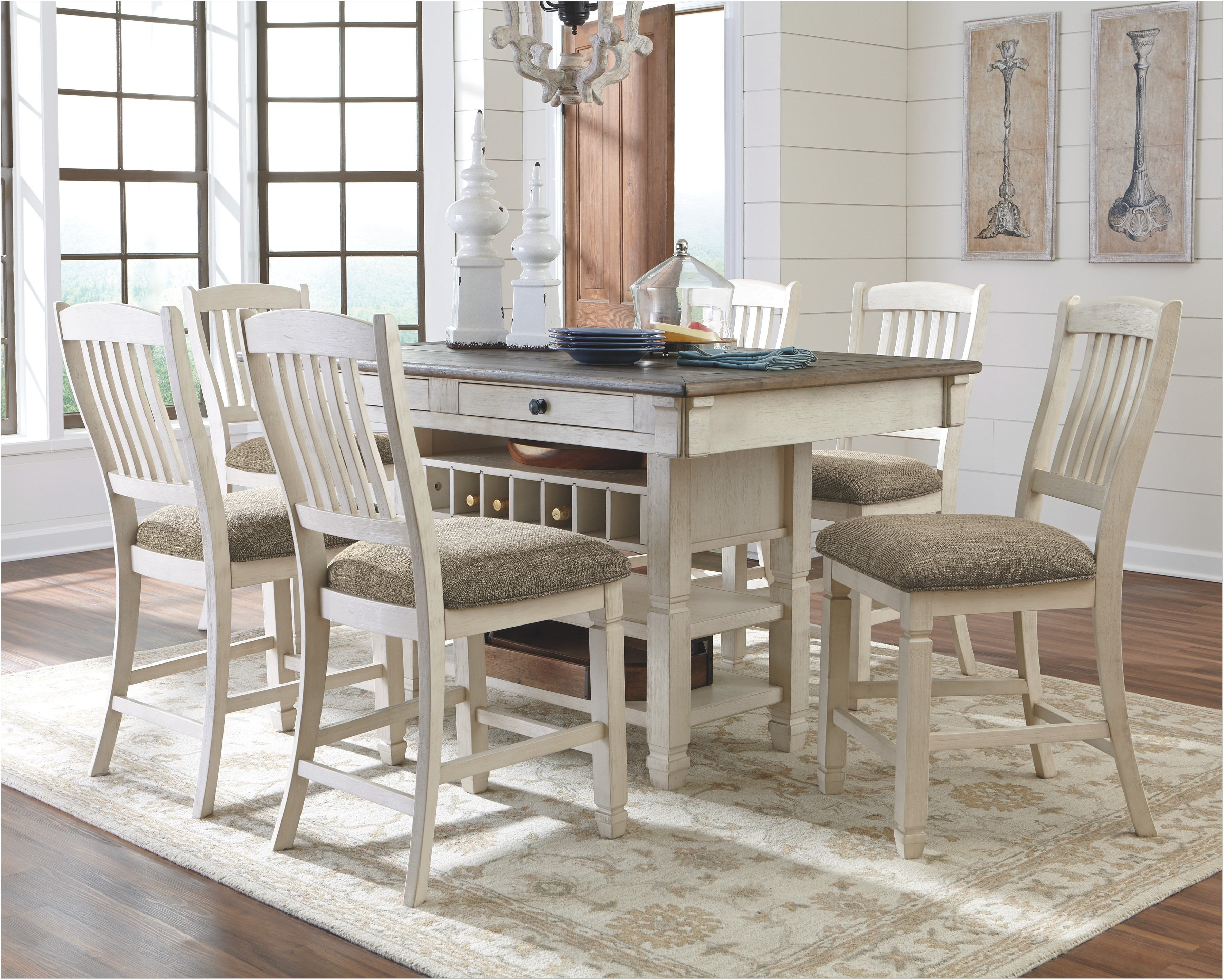 Bolanburg 5 Piece Counter Height Dining Room