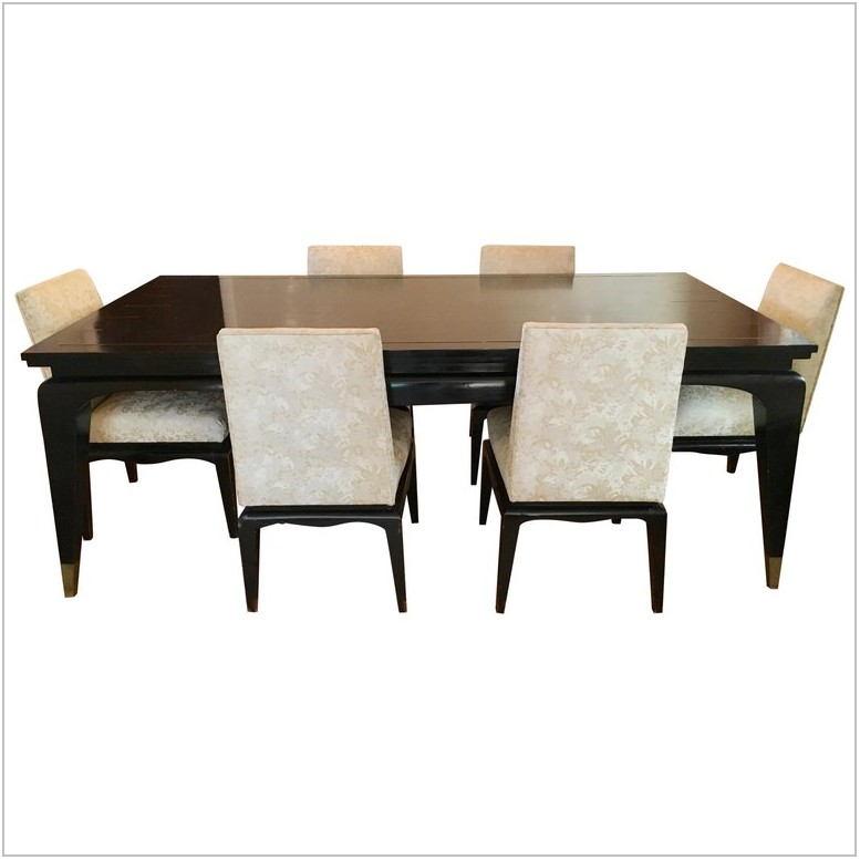 Brass Dining Room Set