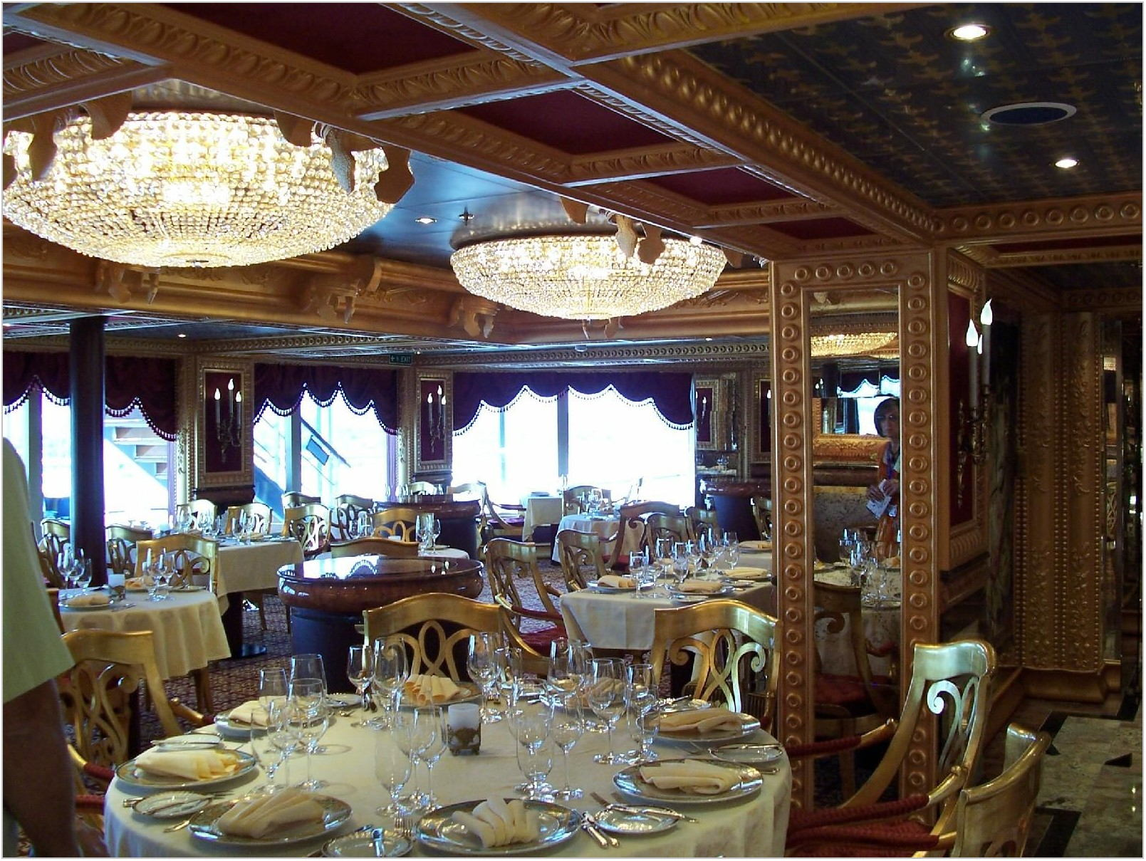 Carnival Freedom Dining Room