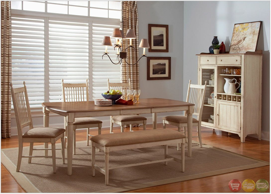 Casual Dining Room Sets With Benches