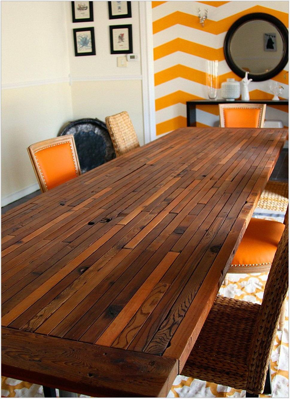 Cedar Dining Room Table