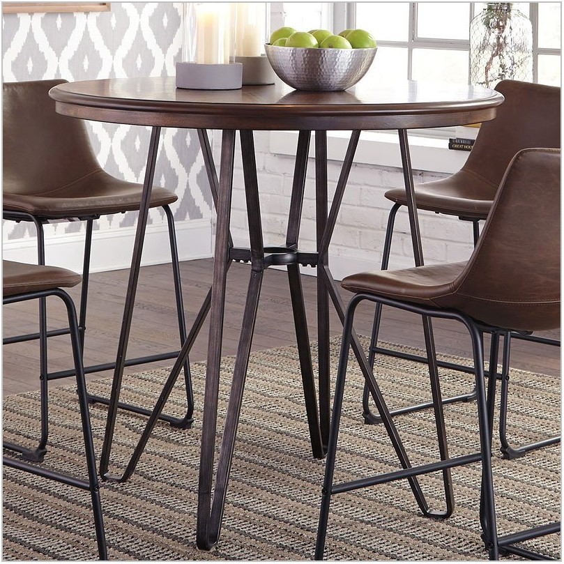 Centiar Counter Height 5 Piece Dining Room