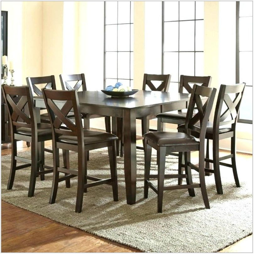 Champagne Color Dining Room Set