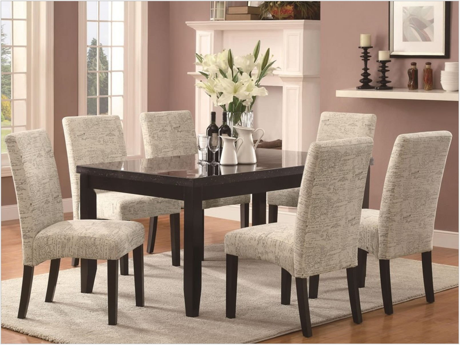 Cheap Upholstered Dining Room Chairs