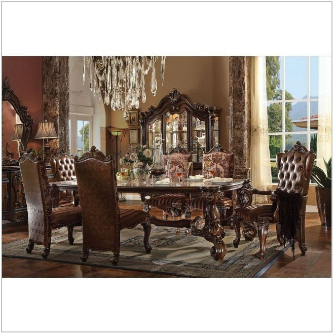 Cherry Oak Dining Room Set