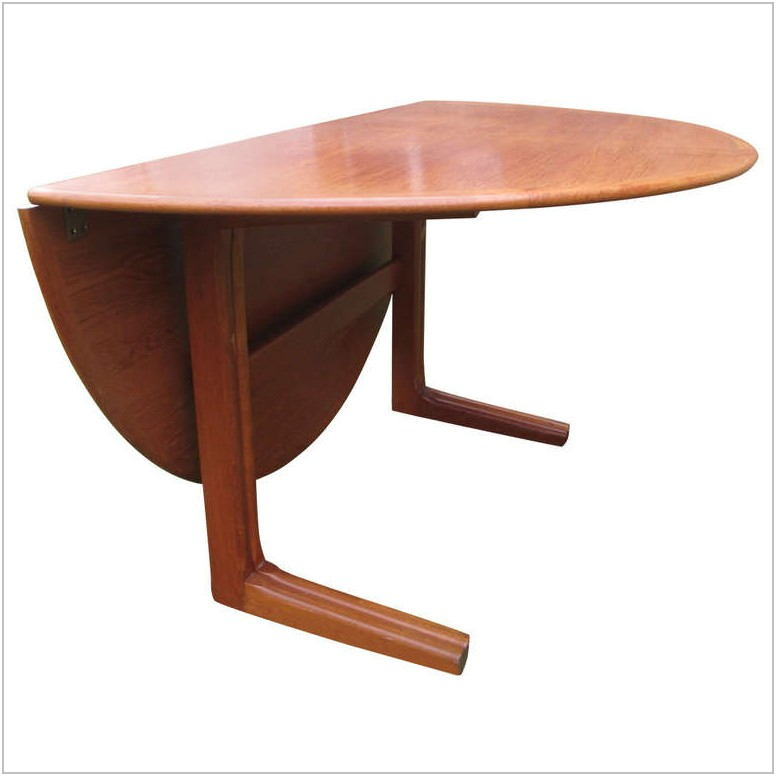 Circle Dining Room Table With Leaf