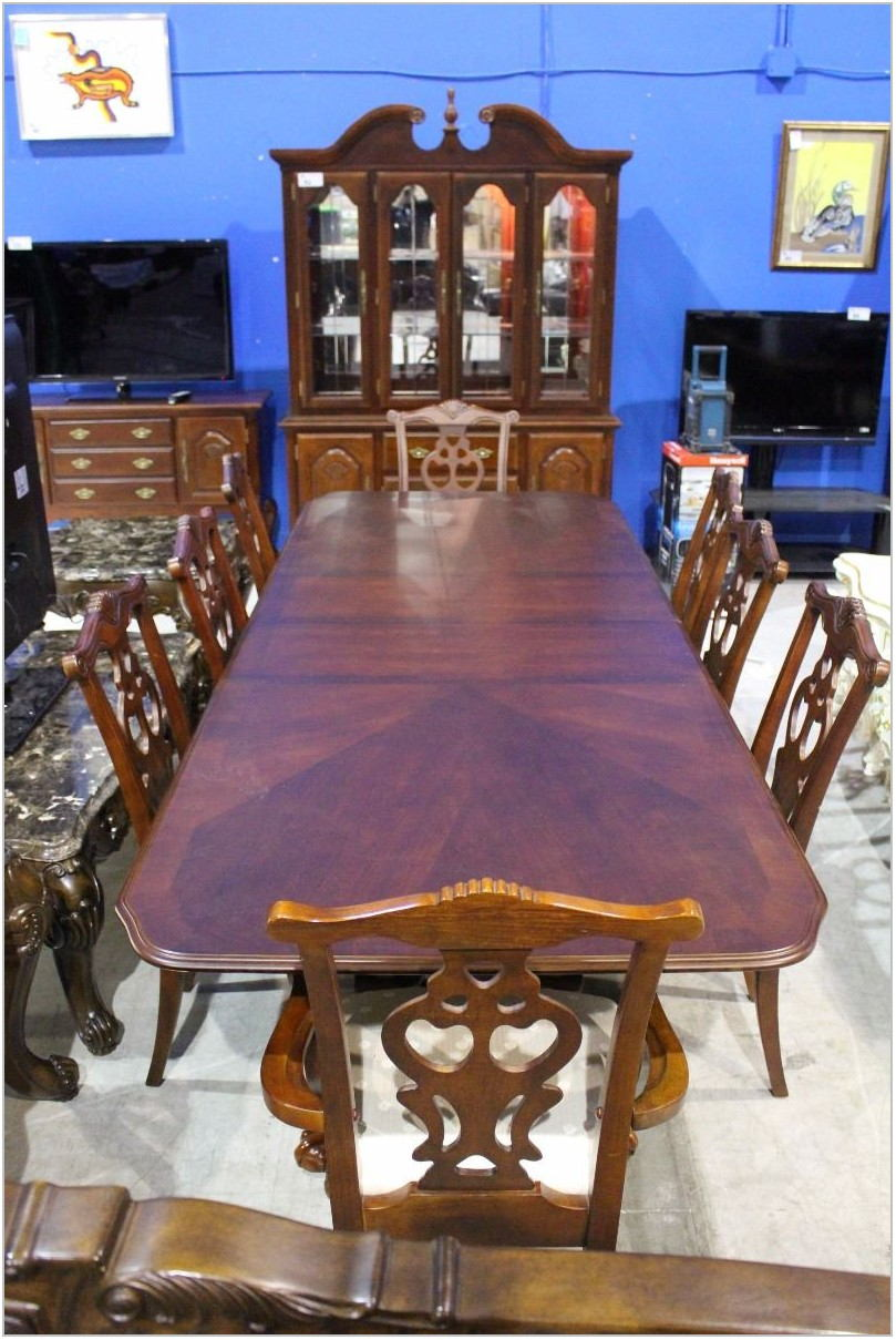 Claw Foot Dining Room Table
