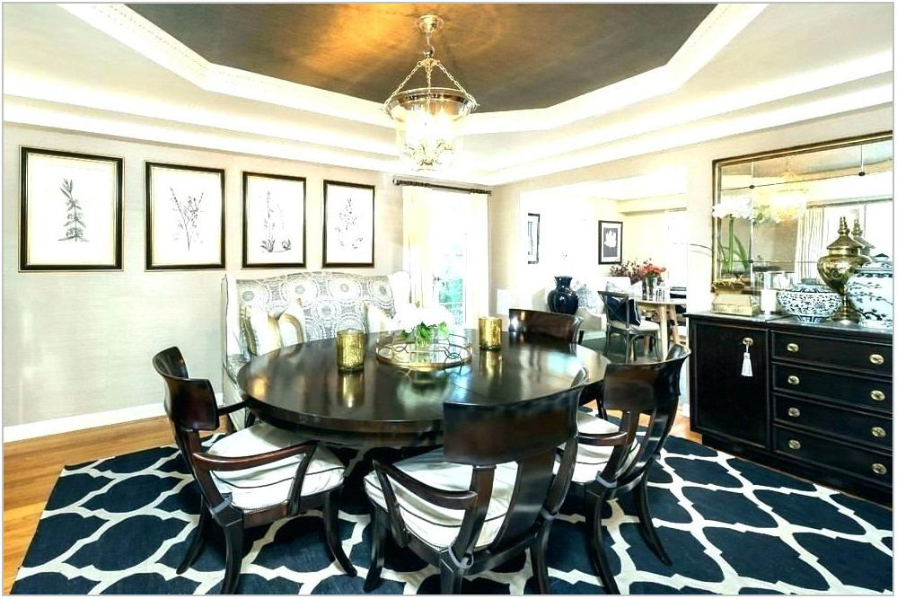 Contemporary Dining Room Rugs