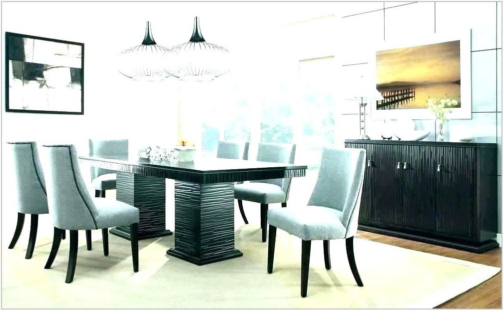 Contemporary Dining Room Sets For 8
