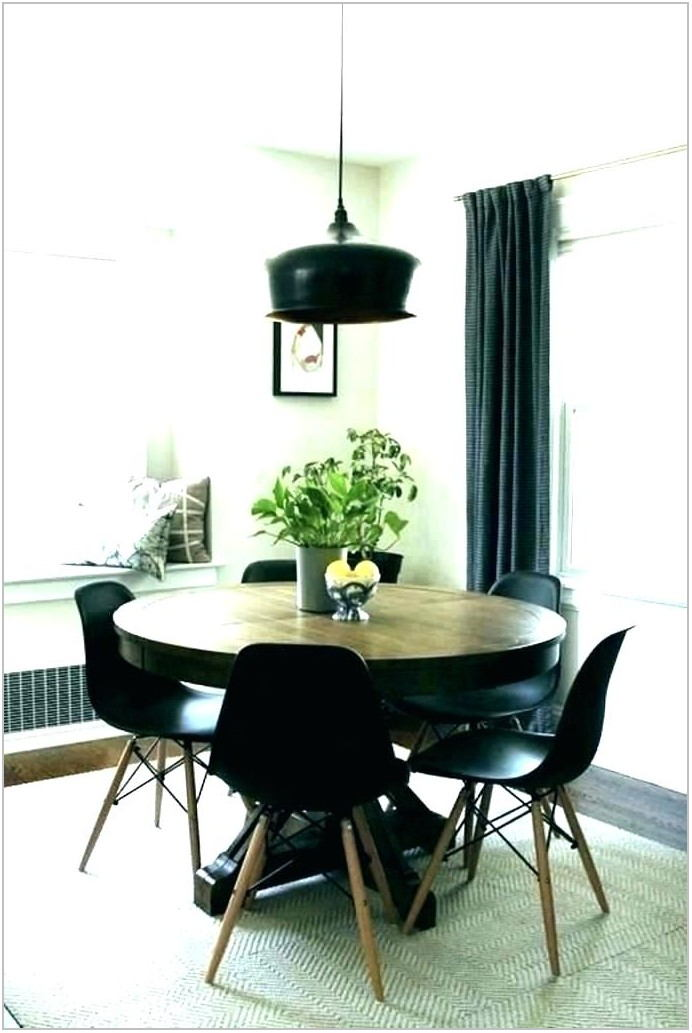 Contemporary Round Dining Room Table