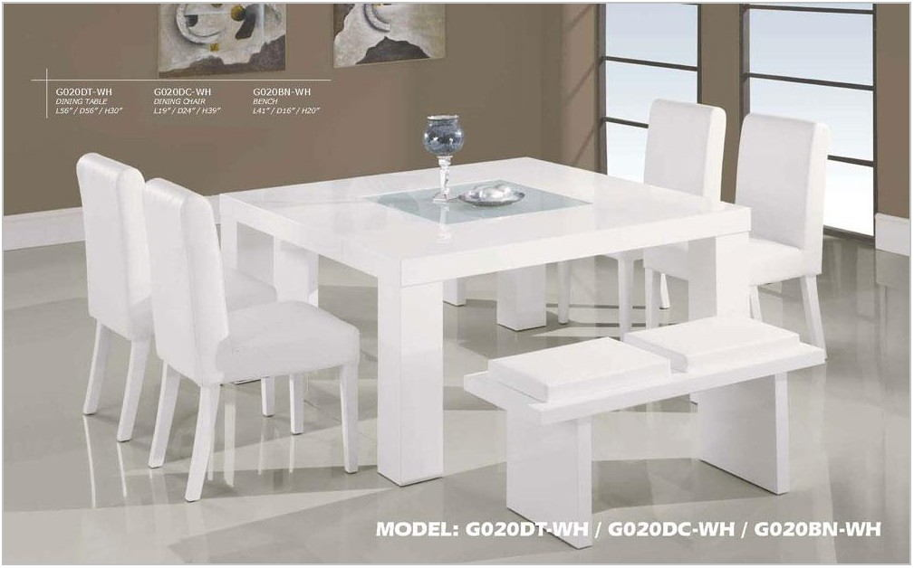 Contemporary Wood Dining Room Sets