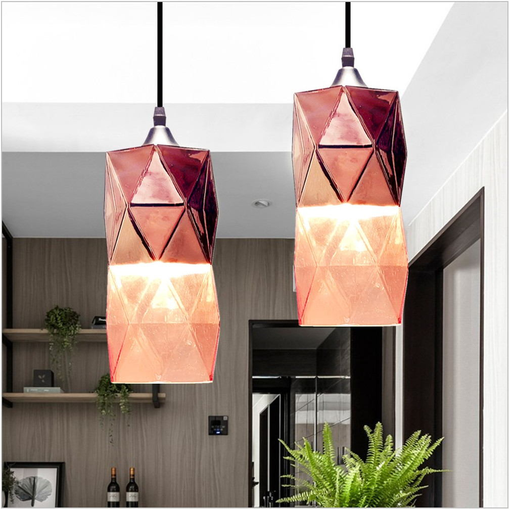 Copper Pendant Light Dining Room