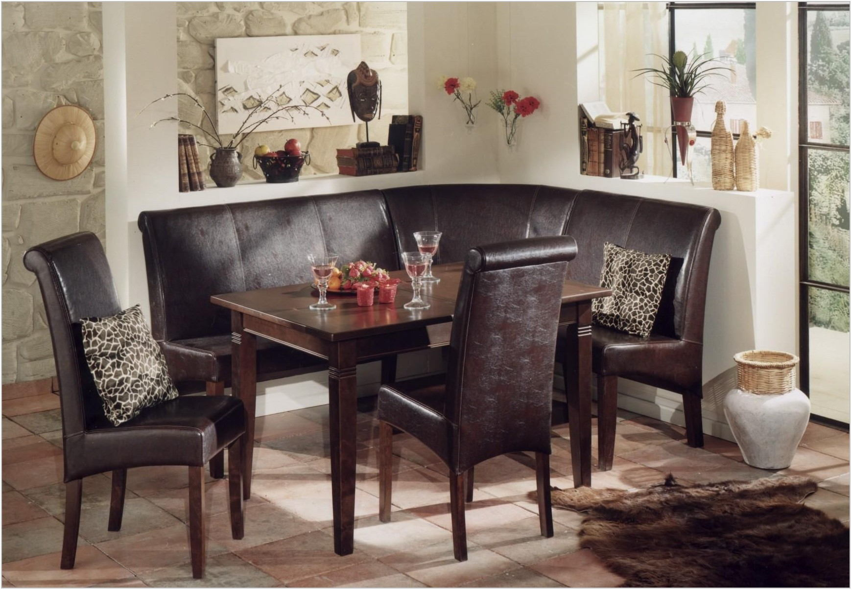 Corner Nook Dining Room Sets