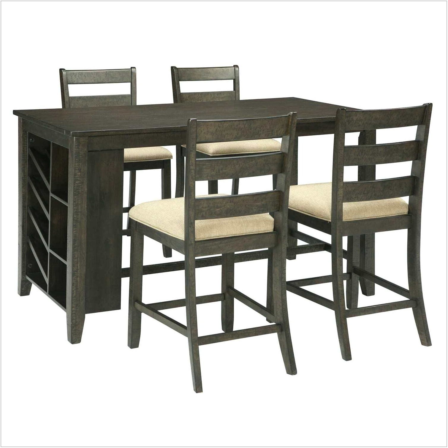 Counter Height Dining Room Sets With Storage