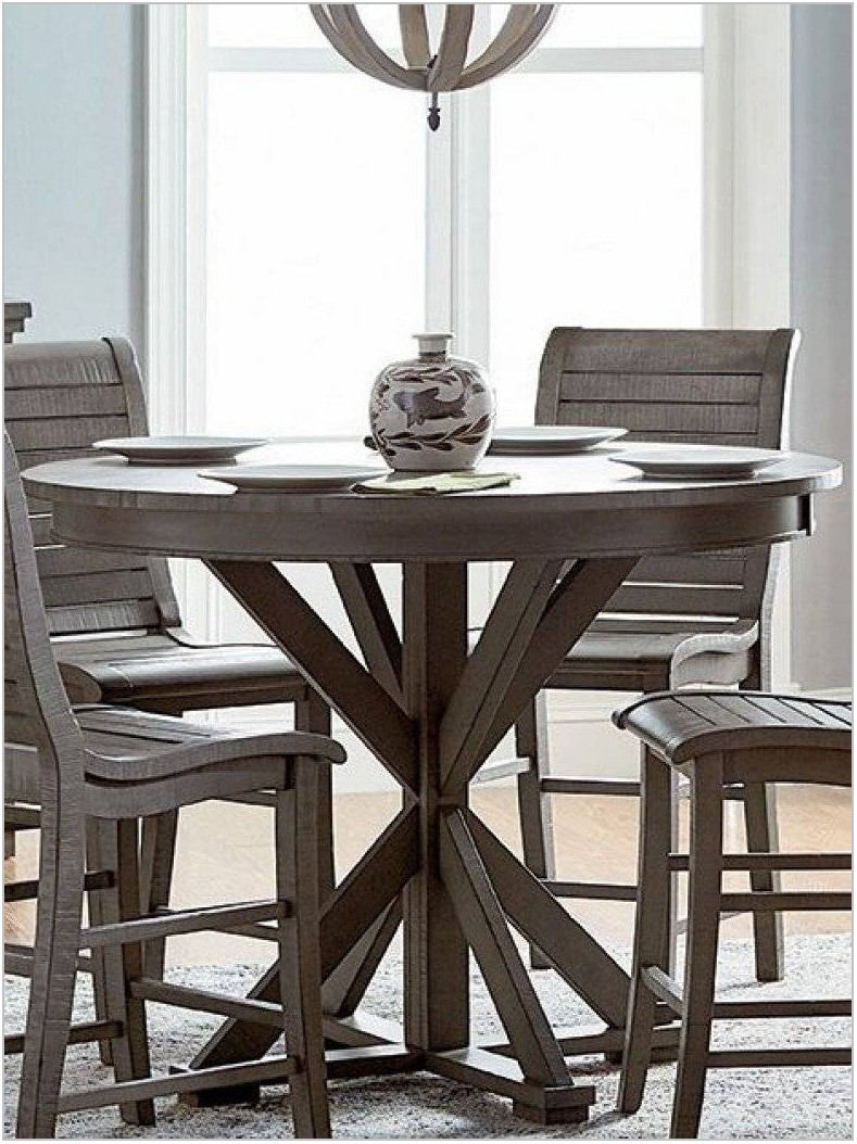 Counter Height Round Dining Room Sets