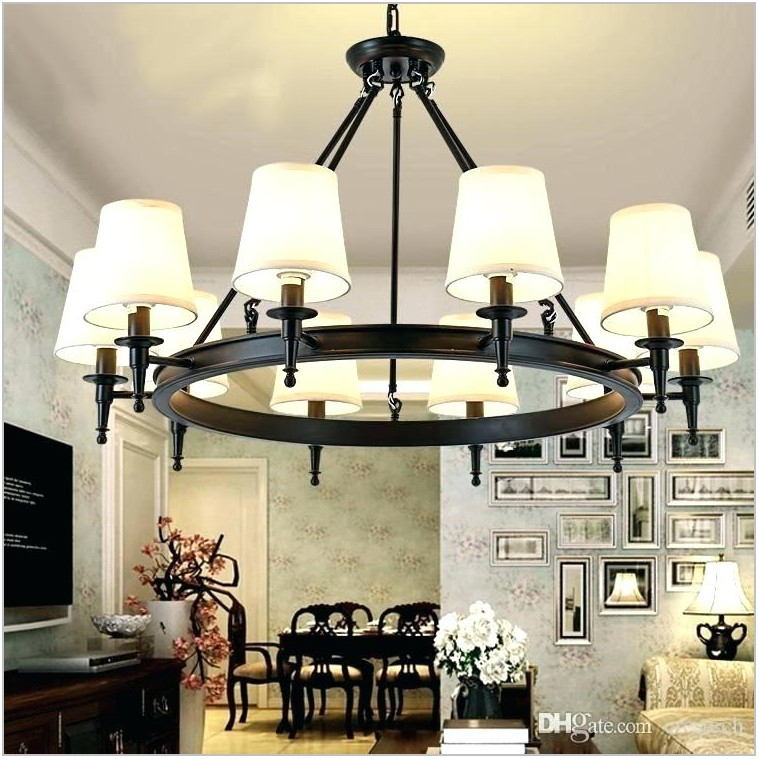Country Light Fixtures Dining Room