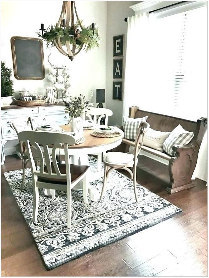 Country Rugs For Dining Room