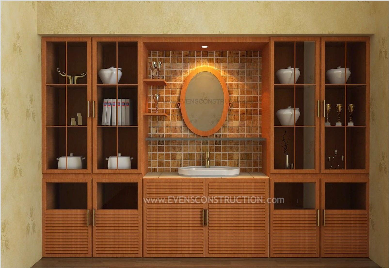 Crockery Cabinet In Dining Room