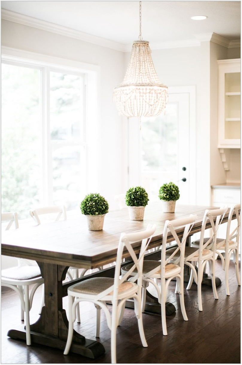 Cross Back Dining Room Chairs