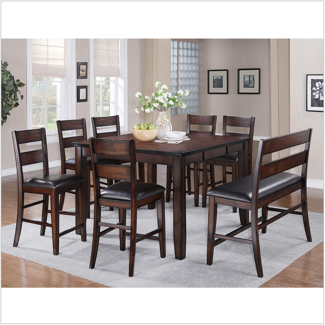 Crown Mark Dining Room Counter Height Table