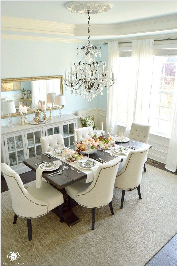 Crystal Dining Room Table