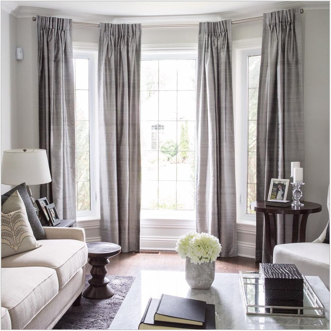 Curtains For Dining Room Bay Window