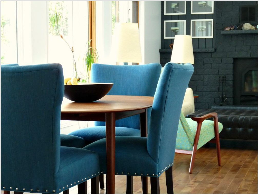 Dark Blue Dining Room Chairs