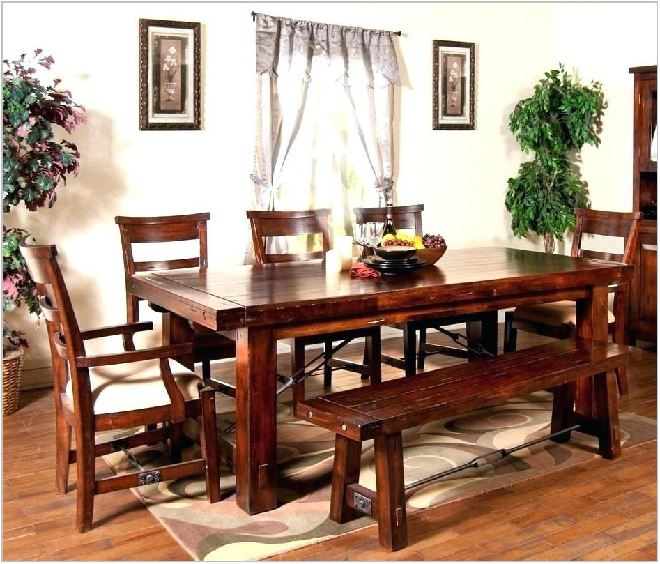 Dark Cherry Wood Dining Room Sets