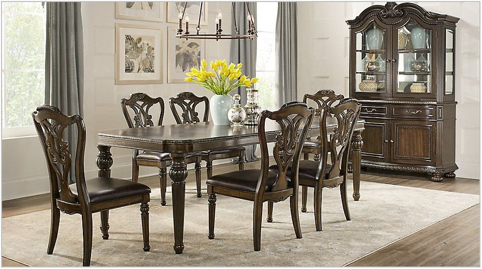 Dark Dining Room Sets