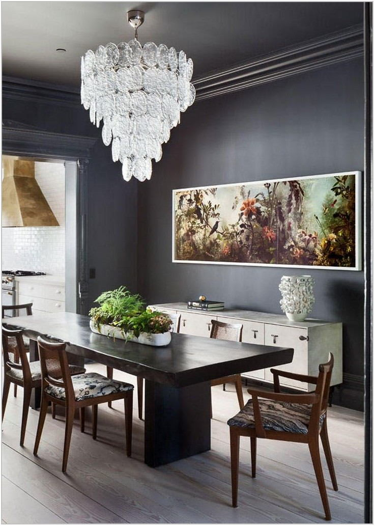 Dark Paint Colors For Dining Room