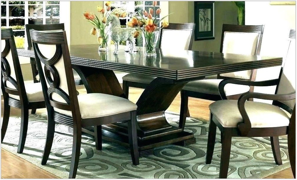 Dark Wood Dining Room Table Sets