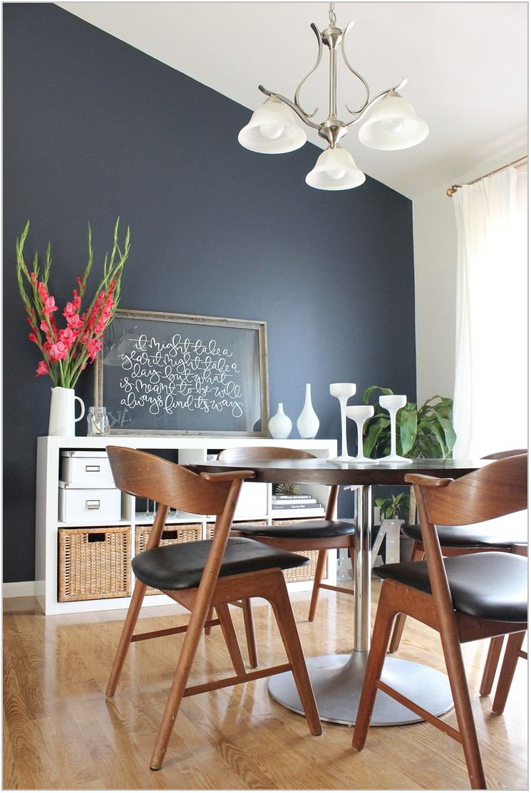 Dining Room Accent Wall Paint