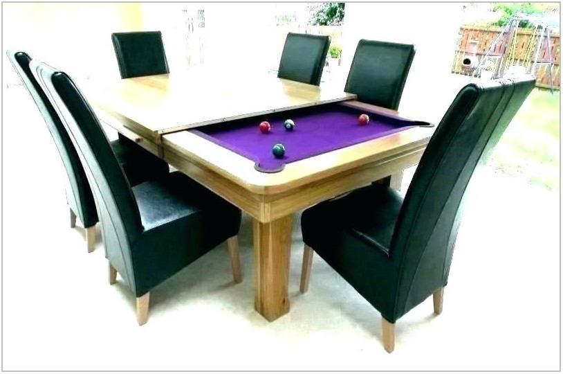 Dining Room Billiard Table