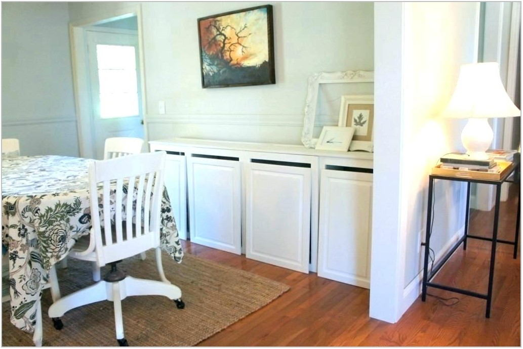 Dining Room Buffet With Wine Fridge