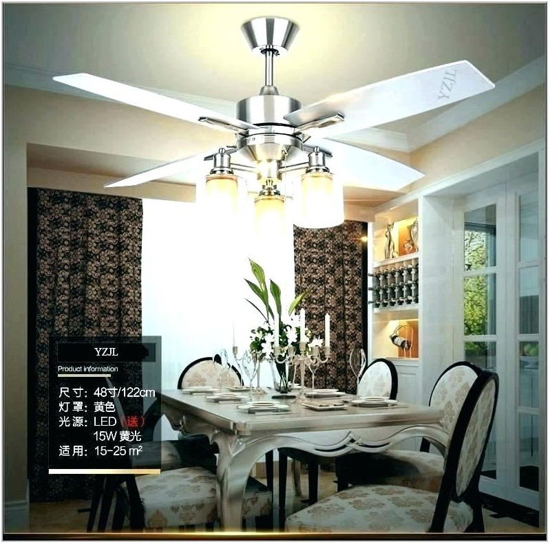 Dining Room Ceiling Fan Light Fixture