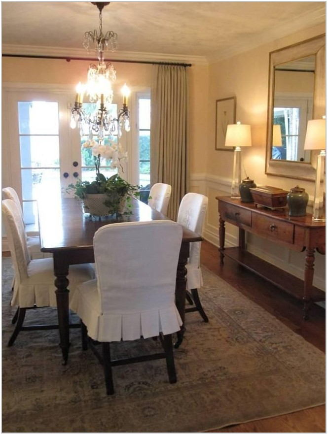 Dining Room Chair Seat Slipcovers