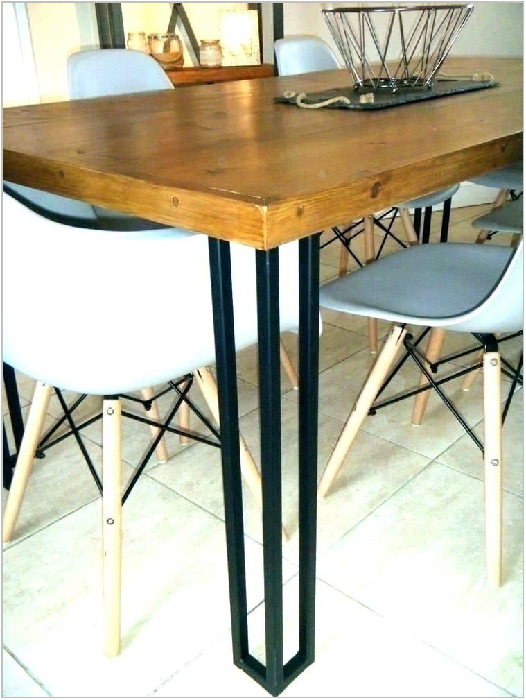 Dining Room Chairs With Black Metal Legs