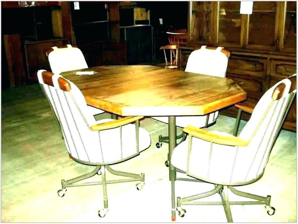 Dining Room Chairs With Casters For Seniors