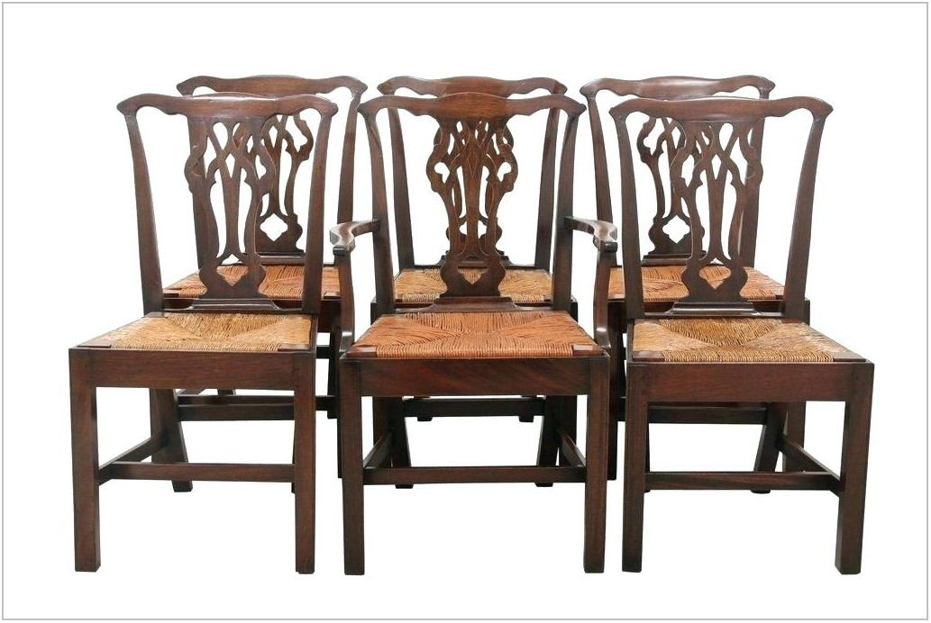 Dining Room Chairs With Rush Seats
