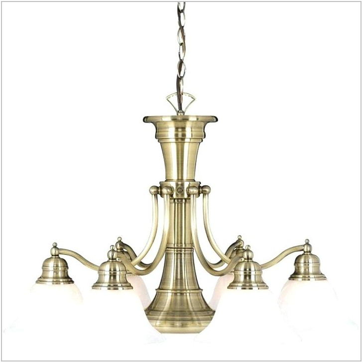Dining Room Chandelier With Center Downlight