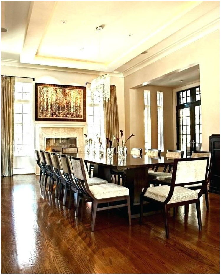 Dining Room Dimensions For 12