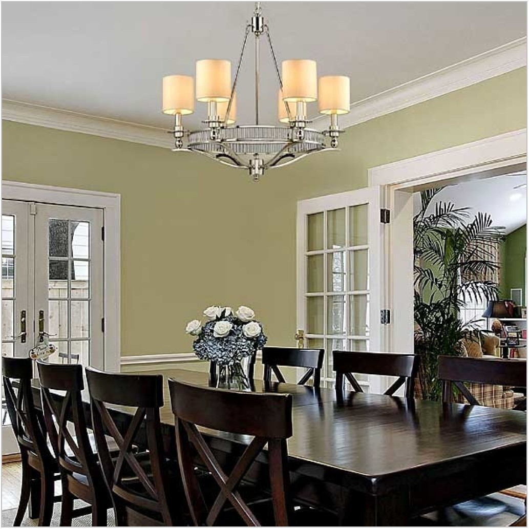 Dining Room Drum Chandeliers